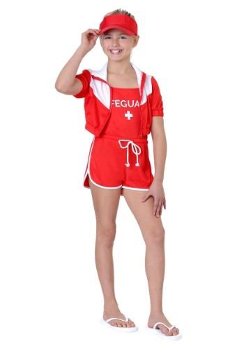 Girl's Lifeguard Costume