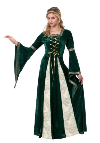 Click Here to buy Renaissance Maiden Womens Costume from HalloweenCostumes, CDN Funds