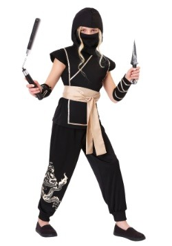 Girl's Guardian Ninja Costume