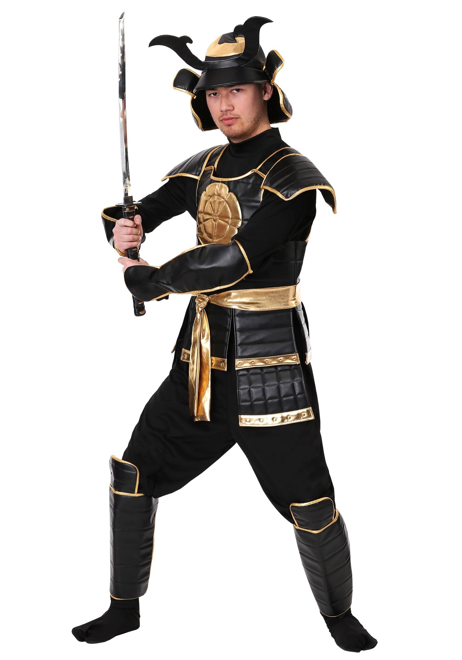 Kids Samurai Warrior Costume