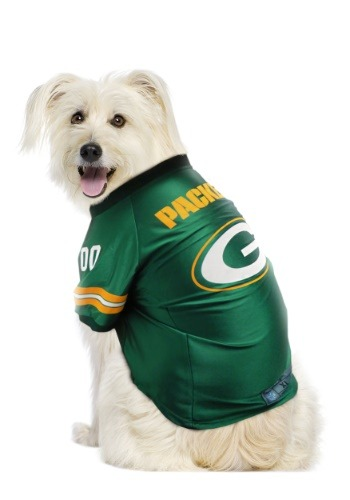 Image of Green Bay Packers NFL Premium Pet Jersey