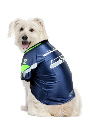 Image of Seattle Seahawks NFL Premium Pet Jersey