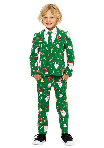 Boys Santa Boss OppoSuit
