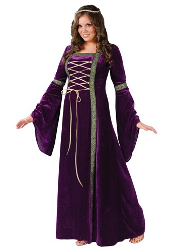 Plus Size Renaissance Lady Costume for Women
