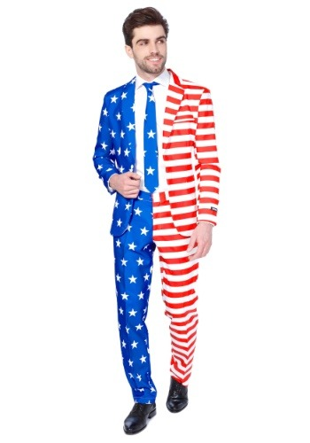 Mens USA Suitmeister Suit