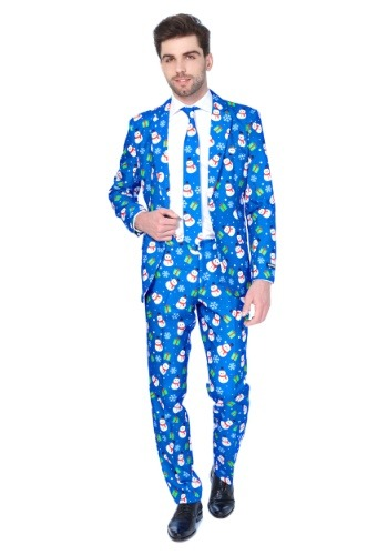 Blue Snowman Mens Suitmeister Suit