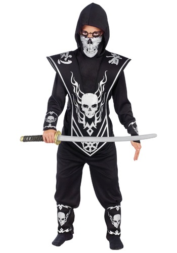 Kids Skull Ninja Costume By: Fun World for the 2015 Costume season.