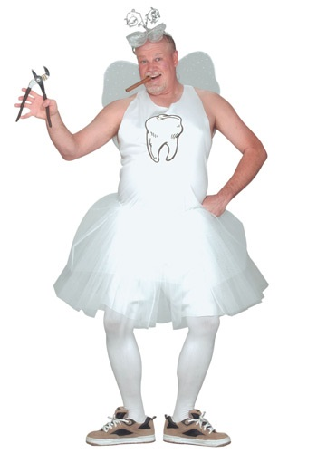 Mens Tooth Fairy Costume By: Fun World for the 2015 Costume season.