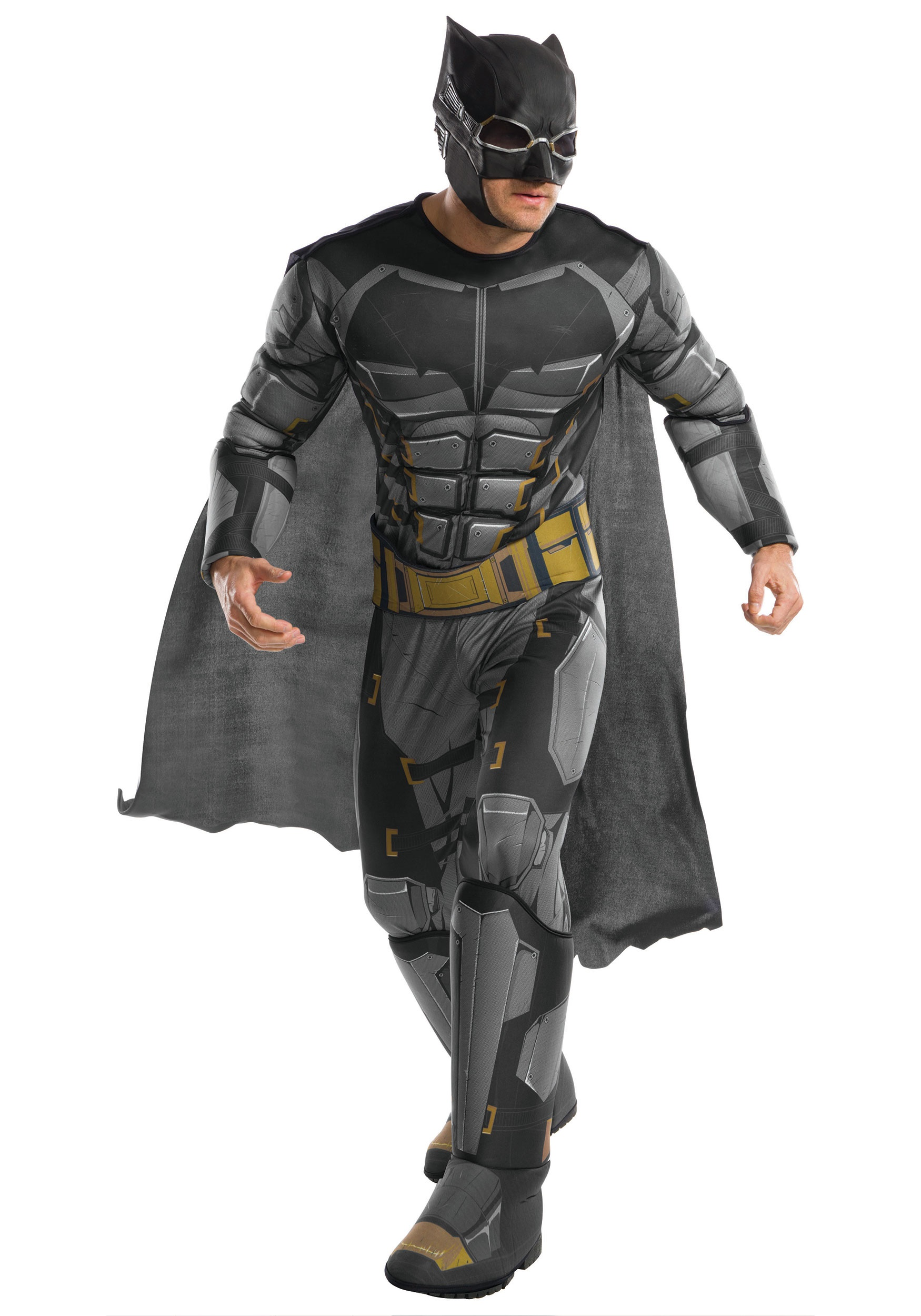 Justice Leauge Adult Deluxe Tactical Batman Costume  sc 1 st  Halloween Costumes & Justice League Adult Deluxe Tactical Batman Costume