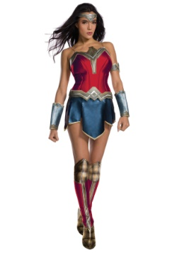 Justice Leauge Adult Deluxe Wonder Woman Costume