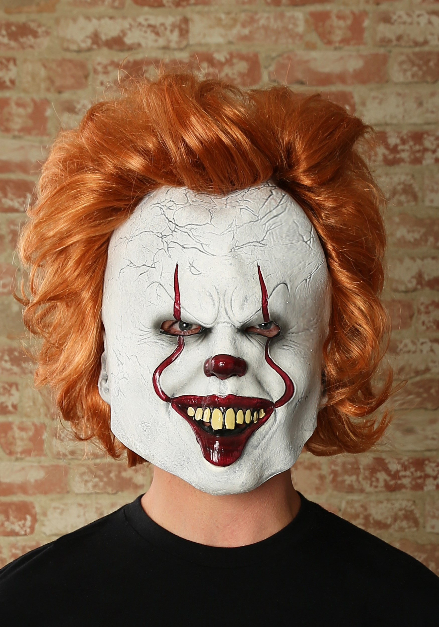 IT Movie Pennywise Deluxe Mask for Adults