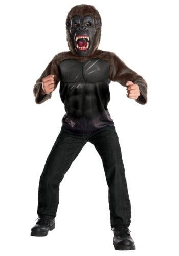 Click Here to buy Deluxe King Kong Kids Costume from HalloweenCostumes, CDN Funds