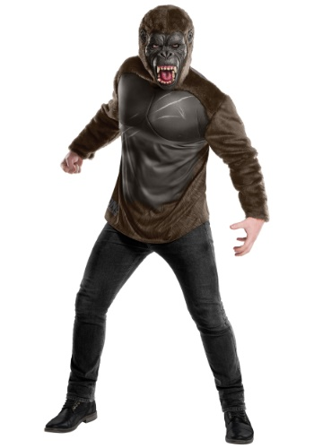 Click Here to buy Deluxe King Kong Costume for Adults from HalloweenCostumes, CDN Funds