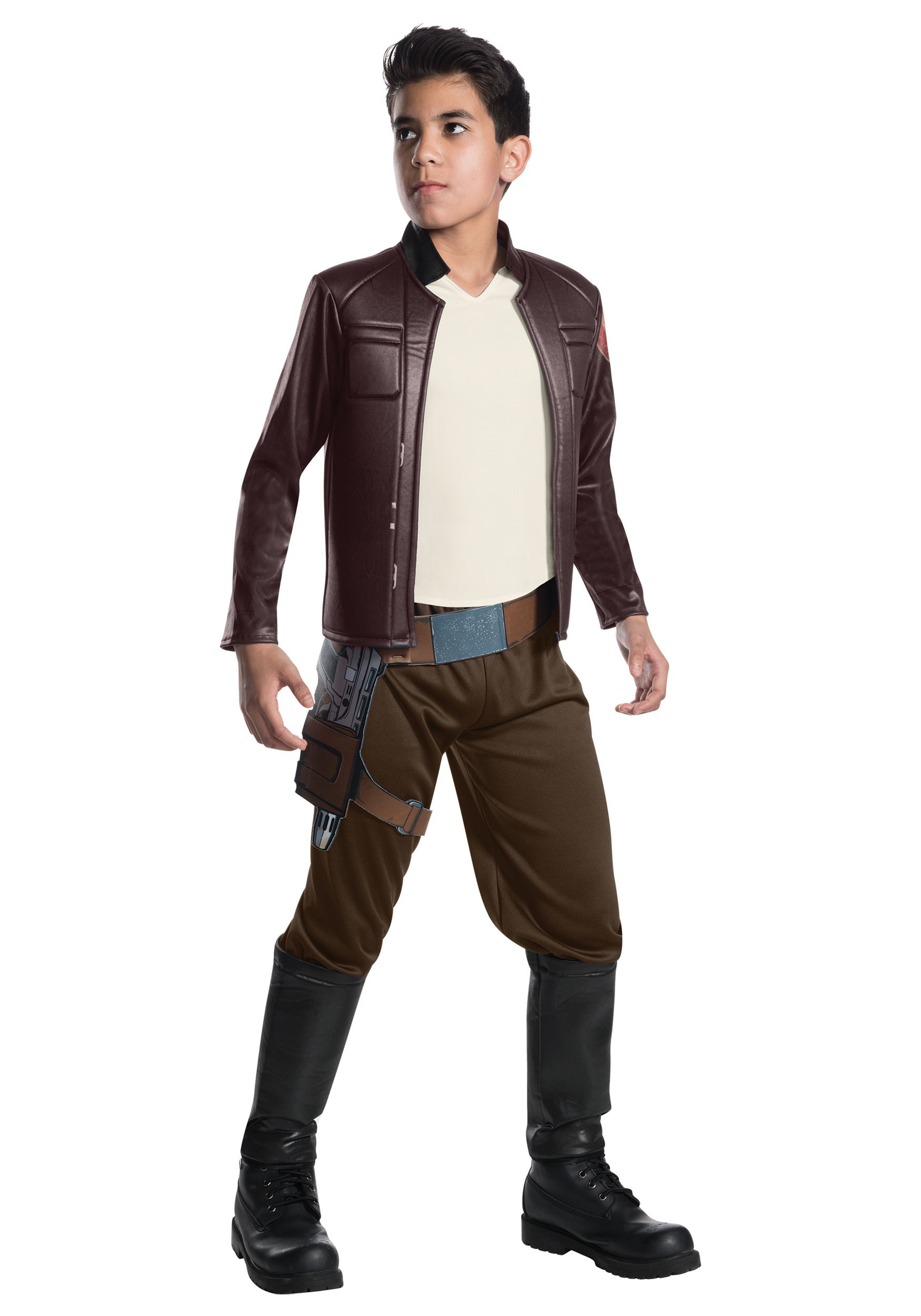 Star Wars The Last Jedi Deluxe Poe Dameron Costume for Kids
