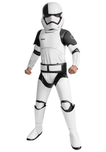 Click Here to buy Star Wars The Last Jedi Super Deluxe Stormtrooper Kids Costume from HalloweenCostumes, CDN Funds