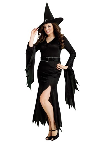Plus Gothic Witch Costume By: Fun World for the 2015 Costume season.