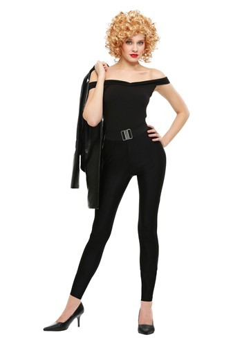 Click Here to buy Womens Grease Plus Size Bad Sandy Costume from HalloweenCostumes, CDN Funds