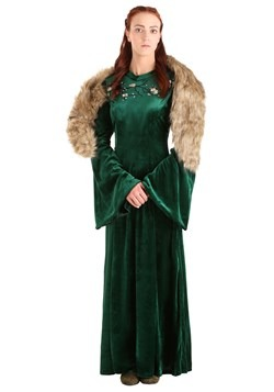 Women's Plus Size Wolf Princess Costume-update3