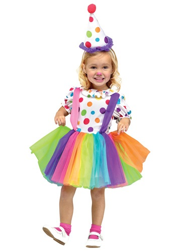 Click Here to buy Kids Big Top Fun Clown Costume from HalloweenCostumes, CDN Funds