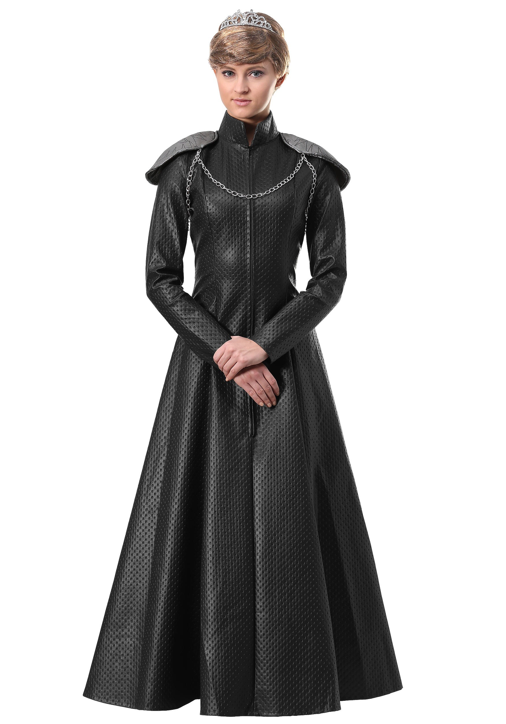 Medieval Game Womens Faux Leather Black Belt Armor of Thrones Costume Accessory