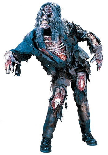 Adult Zombie Costume - Scary Halloween Costumes