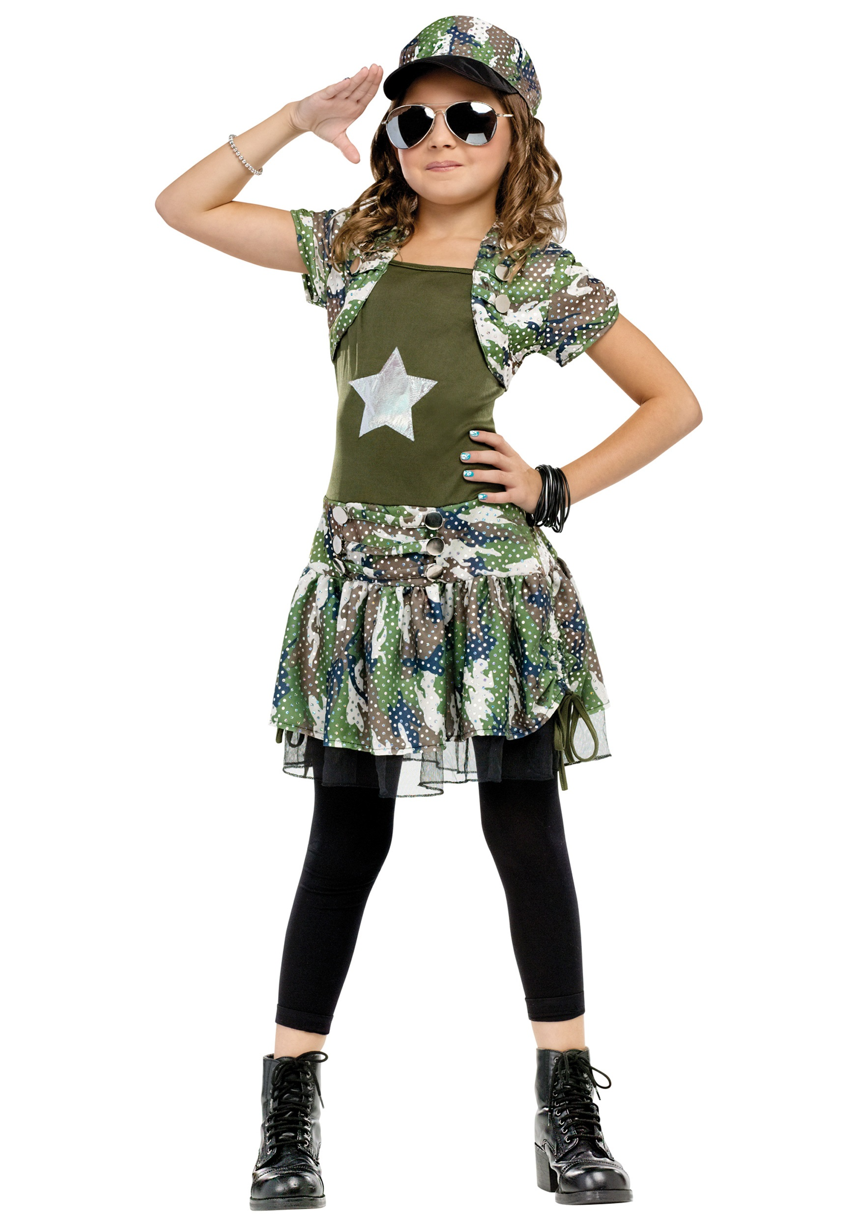 Army Brat Costume  sc 1 st  Halloween Costumes & Kids Army Costume Dress