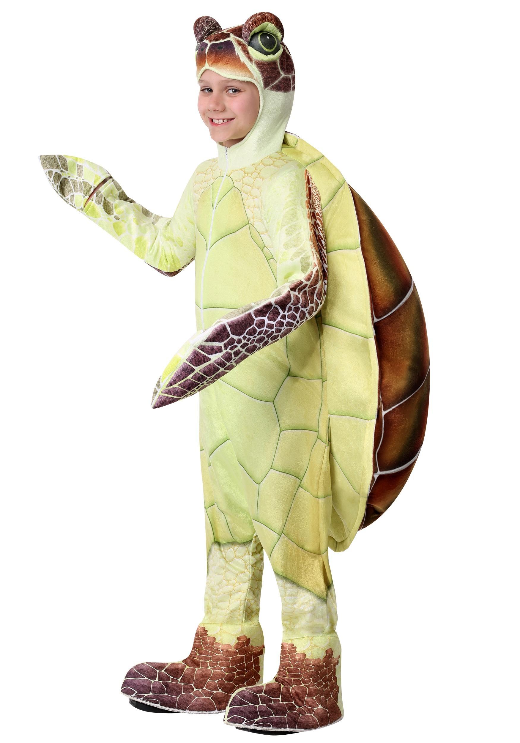 Kids Sea Turtle Costume