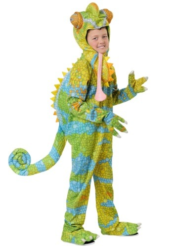 Child's Realistic Chameleon Costume