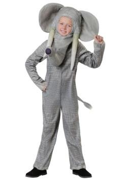 Kids Realistic Elephant Costume