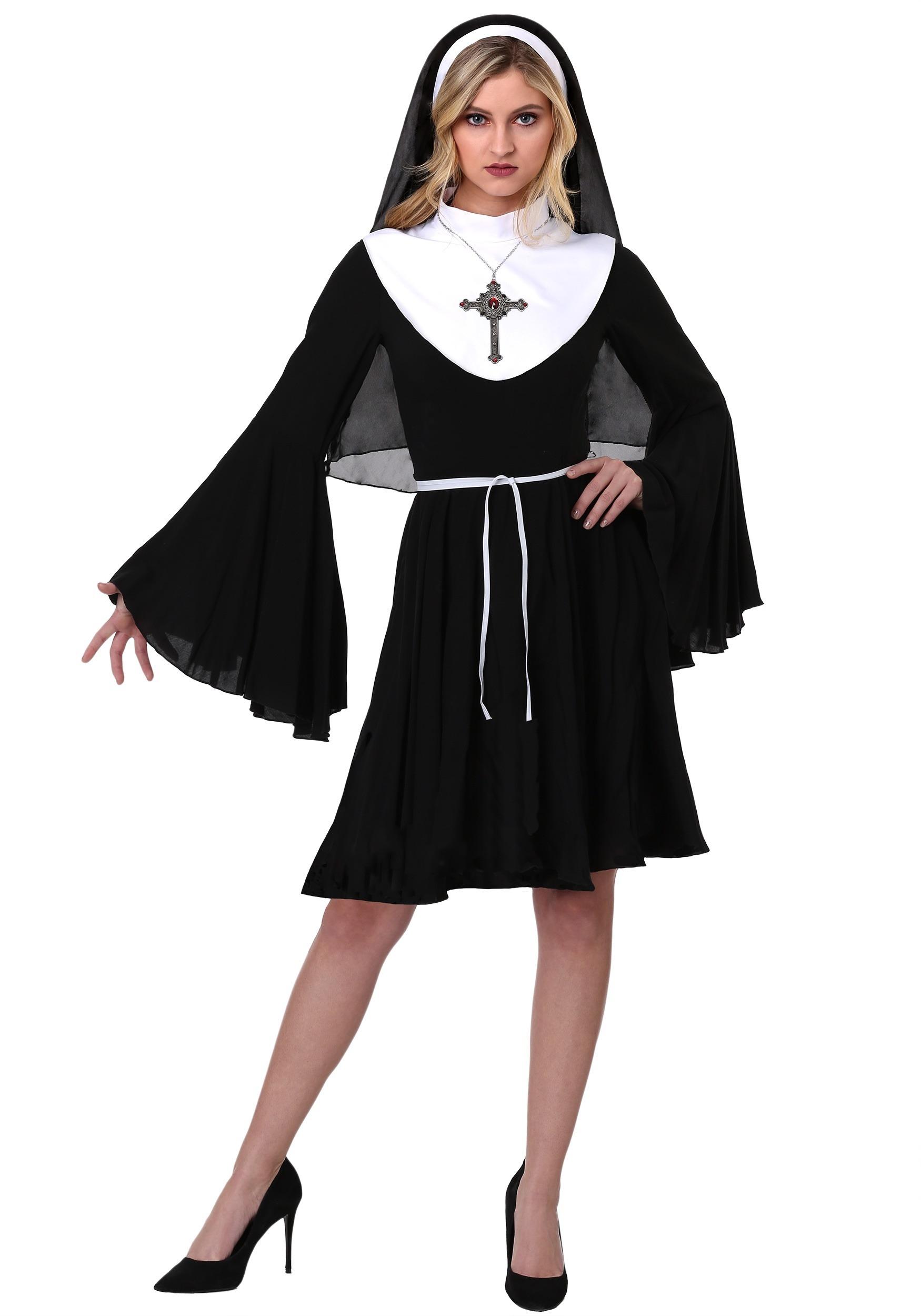 Sassy Nun Women's Costume