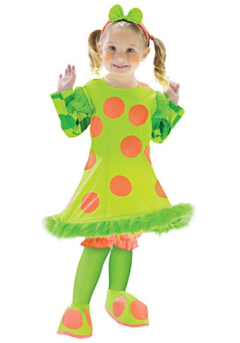 Toddler Lolli the Clown Costume