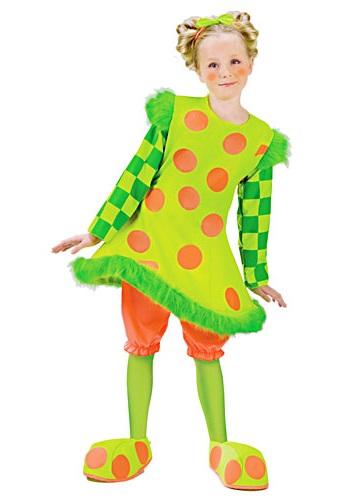 Kids Lolli the Clown Costume