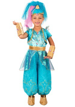 Girls Shine Costume