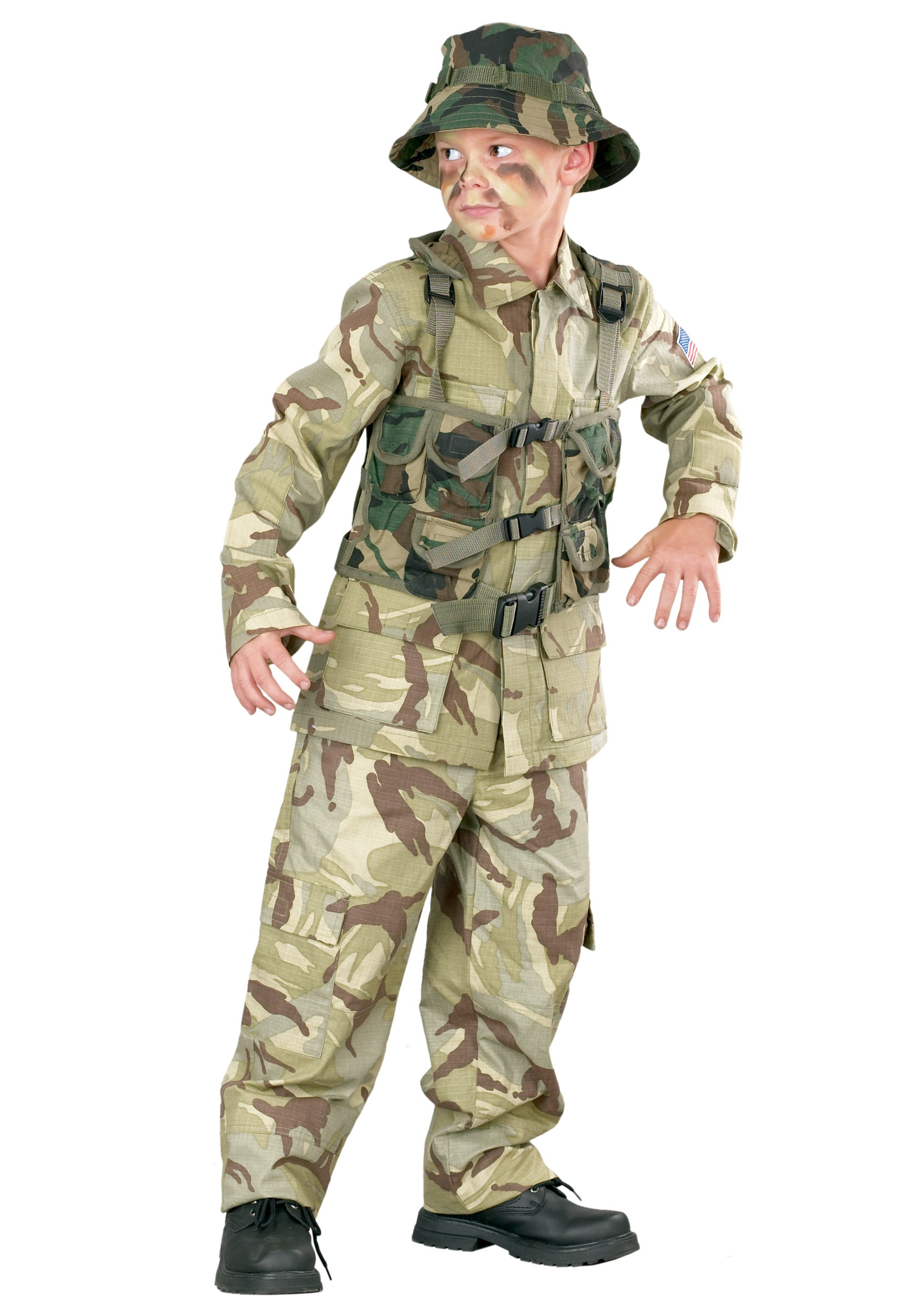 sc 1 st  Halloween Costumes & Child Delta Force Army Costume
