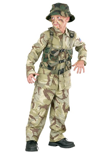 Child Delta Force Army Costume By: Fun World for the 2015 Costume season.