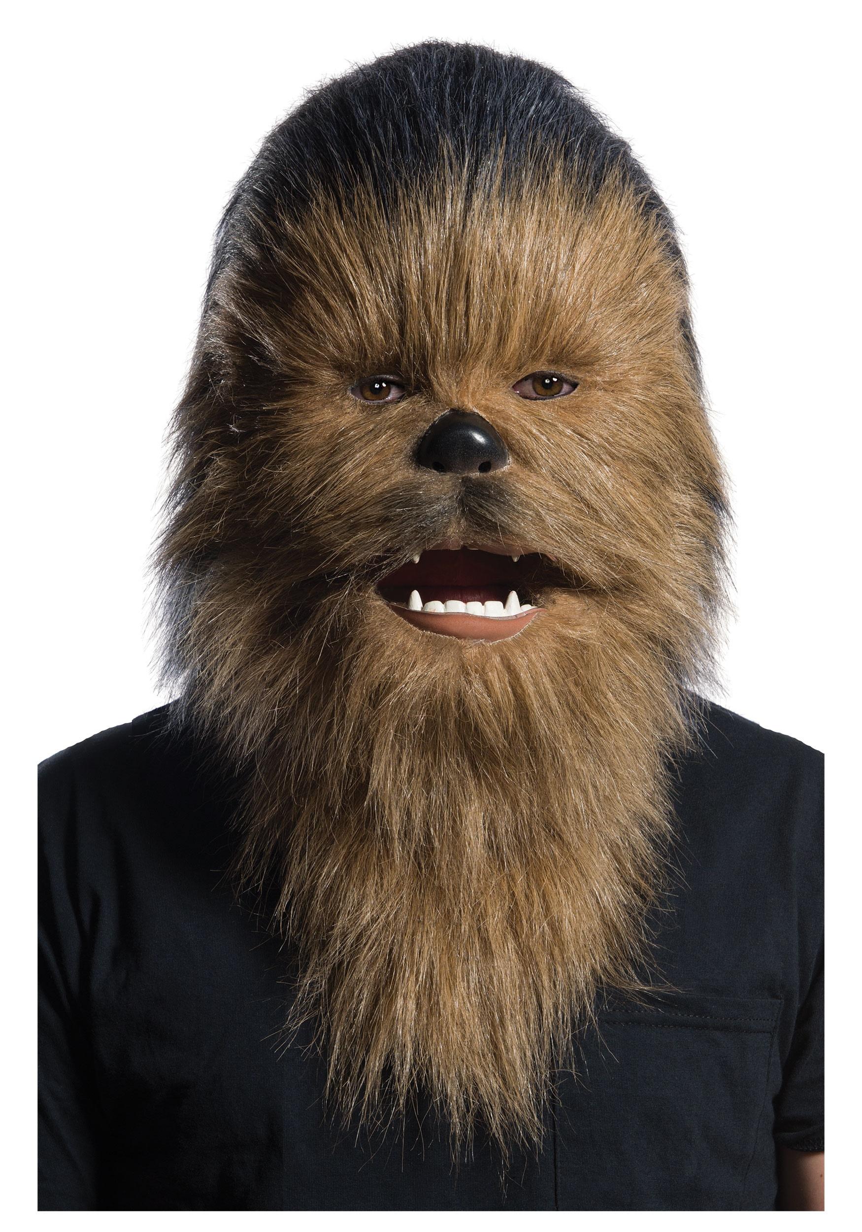 Adult Faux Fur Chewbacca Star Wars Mask