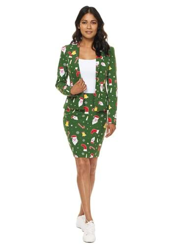 Click Here to buy Womens Santa Babe Opposuit from HalloweenCostumes, USA Funds & Shipping