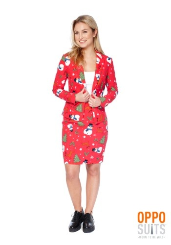 Womens Ms. Christmas OppoSuit