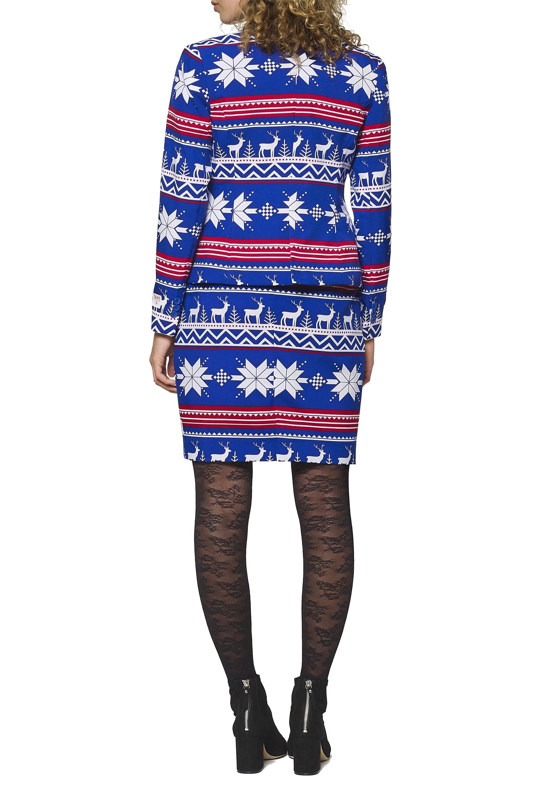 977382dacd84ef Women's Ugly Christmas Sweater OppoSuit