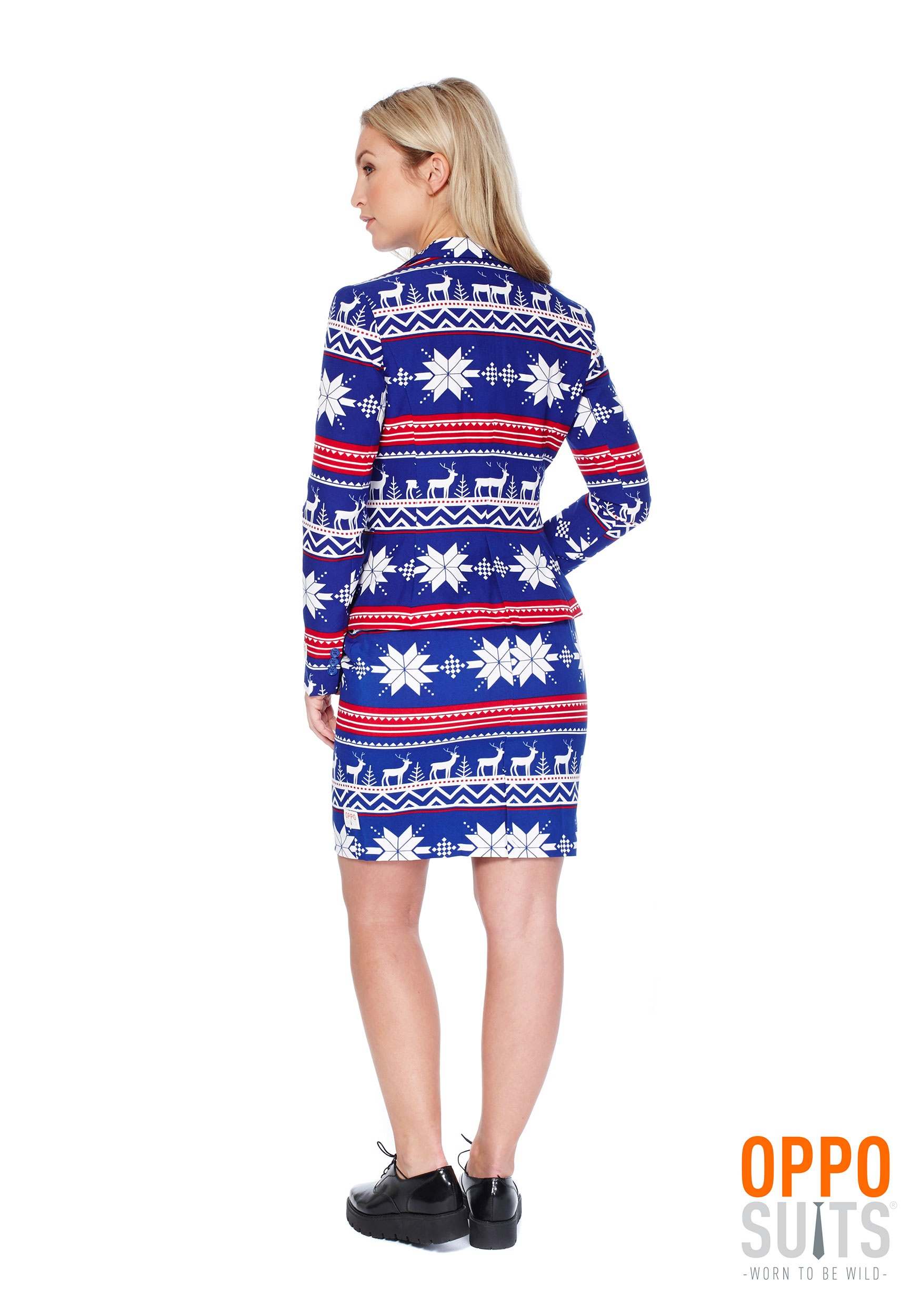 Womens Ugly Christmas Sweater Opposuit