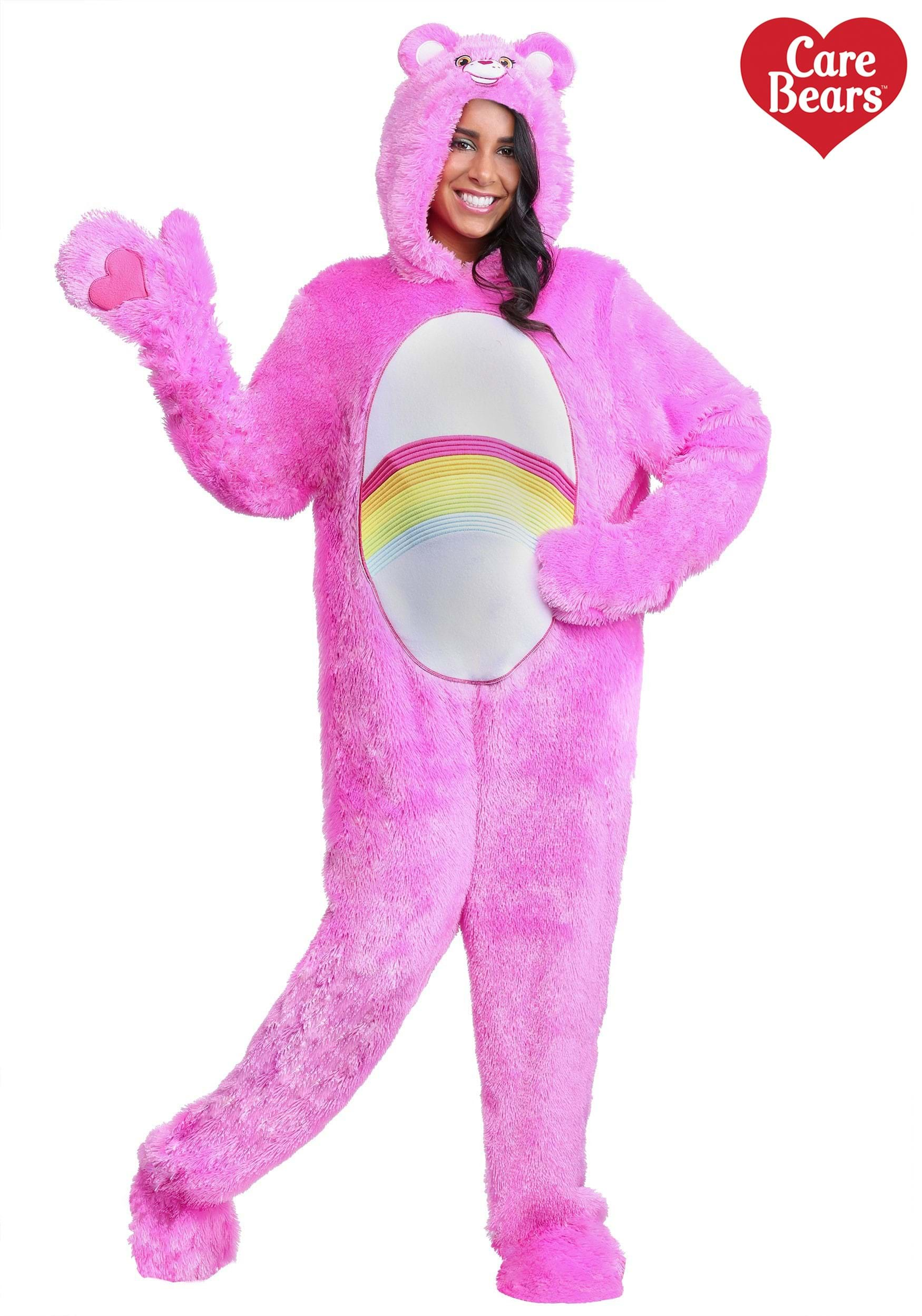 A adult sized care bear costume