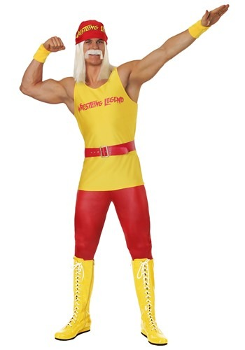 Men's Wrestling Legend Costume Update Main