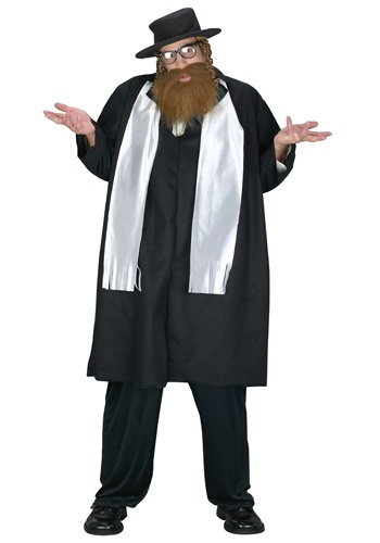 Plus Size Rabbi Costume