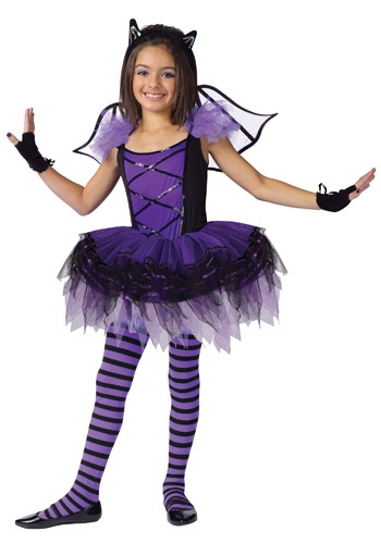 Click Here to buy Kids Batarina Costume from HalloweenCostumes, USA Funds & Shipping