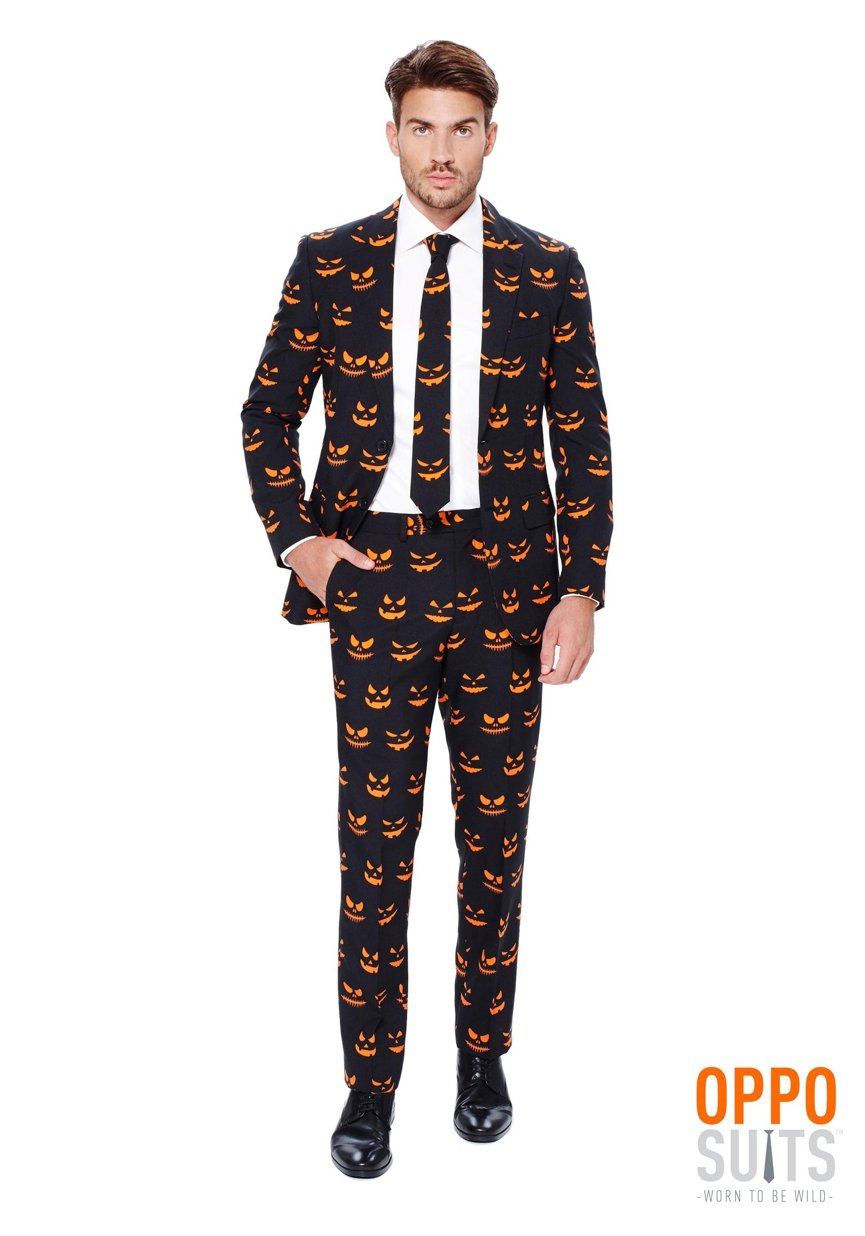 0a96e3cafda2 OppoSuits Pumpkin Mens Suit OppoSuits Pumpkin Mens Suit Front ...