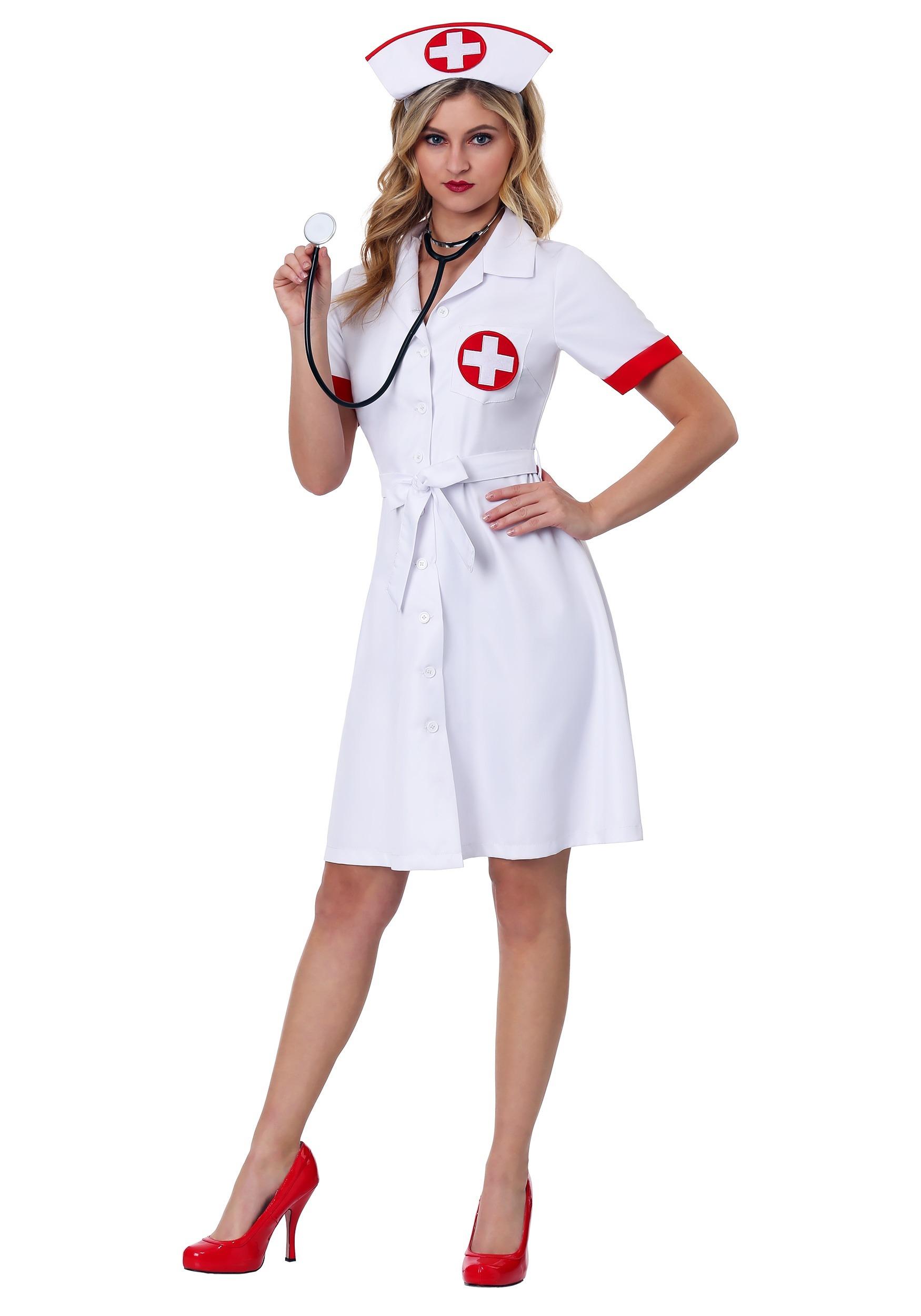 Stitch Me Up Nurse Plus Size Womens Costume-7695