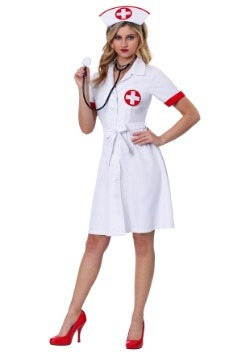 Women's Stitch Me Up Nurse Plus Size Costume