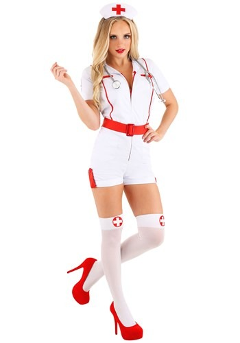 Women's Love Shot Nurse Costume update2