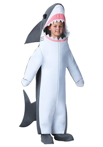 Click Here to buy Great White Shark Kidsrens Costume from HalloweenCostumes, CDN Funds