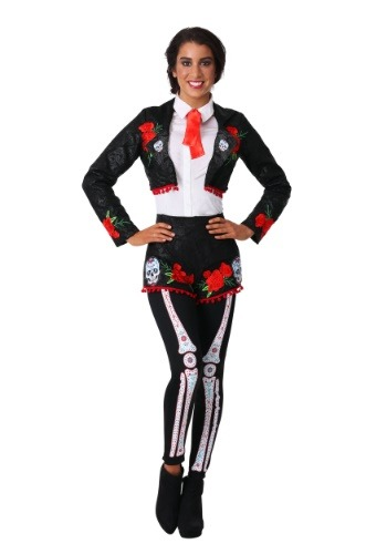 Womens Day of the Dead Mariachi Costume